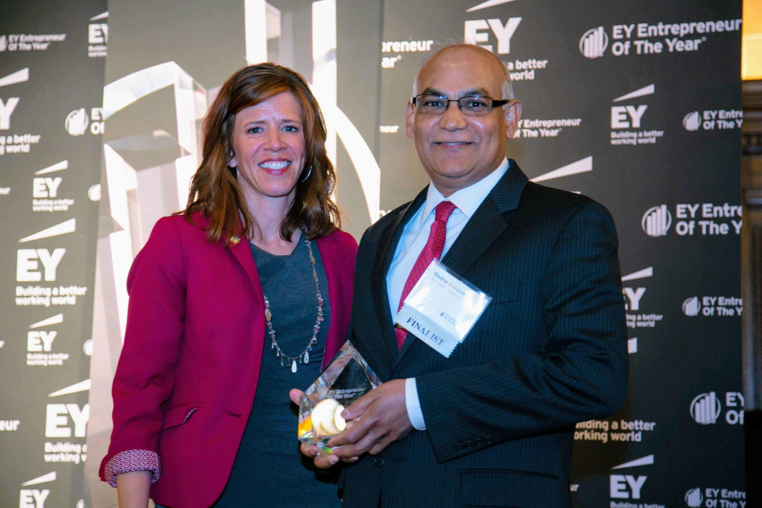 EY Announces Radha Gurusamy of Technosoft Corporation as an Entrepreneur Of The Year Award Finalist in Michigan and Northwest Ohio